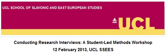 UCL SSEES Interview Workshop